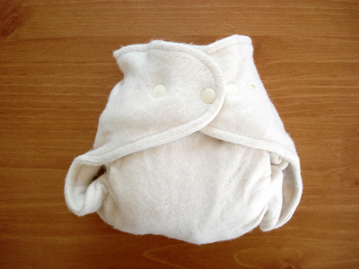 Drybees One Size Bamboo Fitted Cloth Diaper