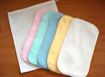 Organic Cotton Wipes Washcloths