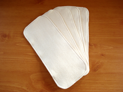 Ecobaby Organics Diaper Doublers are incredibly soft and made of 100% organic cotton sherpa.