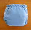 Stacinator Stretch Wool Diaper Covers- Periwinkle