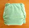 Stacinator Stretch Wool Diaper Cover- Sage