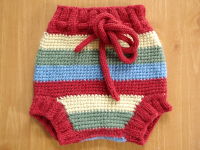 Joven's Crocheted Wool Soakers are perfect for over night use or heavy-wetters.