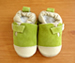 Shoo Shoos Soft Soled Shoes- Green T Bar