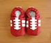 Shoo Shoos Soft Soled Shoes- Red World Cup