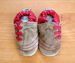ShooShoos Soft Soled Baby Shoes- Sand Lace